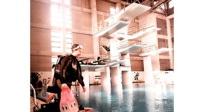 Photo of Pool 수원월드컵 다이빙풀 at 팔달구 월드컵로 310, 수원시, South Korea