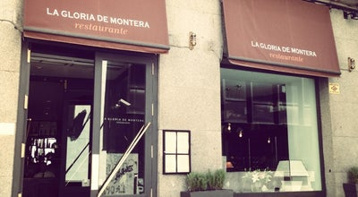 Photo of Mediterranean Restaurant La Gloria de Montera at Calle Caballero De Gracia 10, Madrid 28013, Spain