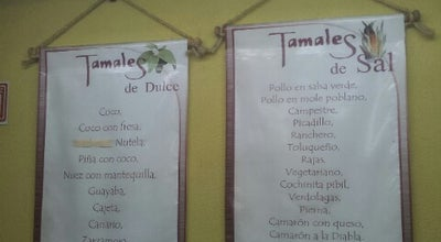 Photo of Mexican Restaurant Los Tamales de Don José at Av. Estado De México, Mexico
