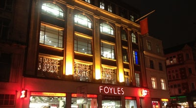 Photo of Bookstore Foyles at 107 Charing Cross Rd, Soho WC2H 0DT, United Kingdom