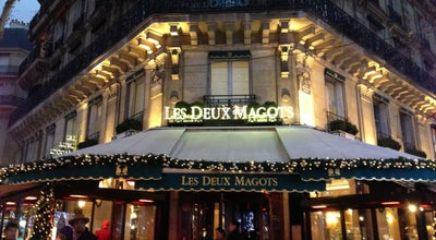 Photo of Cafe Les Deux Magots at 6 Place Saint-germain-des-prés, Paris 75006, France