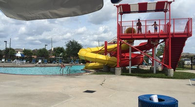 Photo of Pool Village of Diamond Bay Water Park at Trinity Bay Dr, Pearland, TX 77584, United States