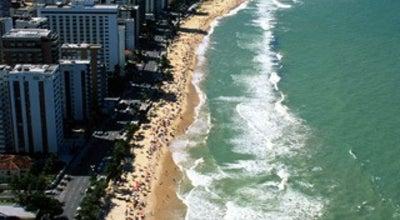 Photo of Beach Praia de Boa Viagem at Av. Boa Viagem, Recife, Brazil