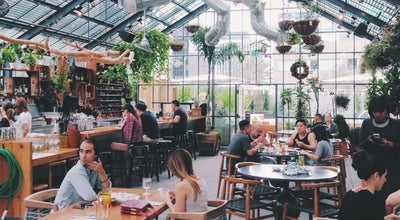 Photo of New American Restaurant COMMISSARY at 3515 Wilshire Blvd, Los Angeles, CA 90010, United States