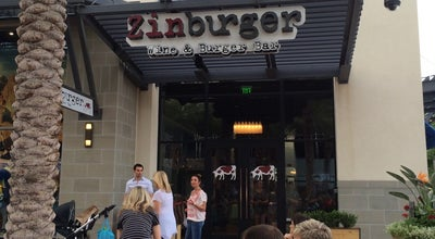 Photo of Burger Joint Zinburger at 15257 N Scottsdale Rd, Scottsdale, AZ 85254, United States