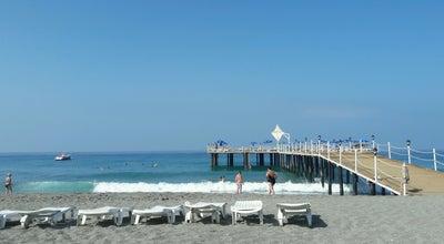 Photo of Beach Santana Beach Club at Antalya, Turkey