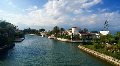 Photo of Lake Canales Empuriabrava at Carrer Port Empúries 59, Empuriabrava 17487, Spain