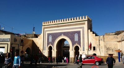 Photo of Historic Site Bab Boujloud باب أبي الجلود at Bab Boujloud, Fes, Morocco