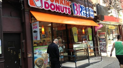 Photo of Coffee Shop Dunkin' Donuts at 323 W 42nd St, New York, NY 10036, United States