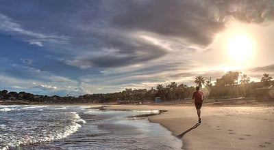 Photo of Beach Playa de l'arrabasada at Spain