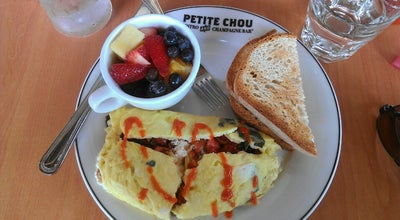 Photo of Breakfast Spot Petite Chou Bistro and Champagne Bar at 823 E Westfield Blvd, Indianapolis, IN 46220, United States