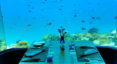 Photo of Seafood Restaurant Sea Underwater restaurant at Maldives