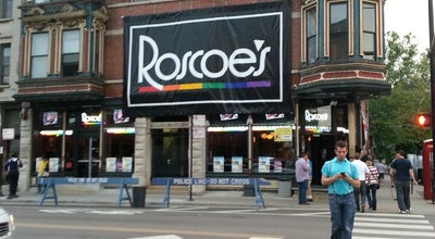 Photo of Gay Bar Roscoe's at 3356 N Halsted St, Chicago, IL 60657, United States
