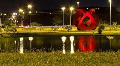 Photo of Outdoor Sculpture Criação e Criatura at Parque Das Águas, Sorocaba, Brazil