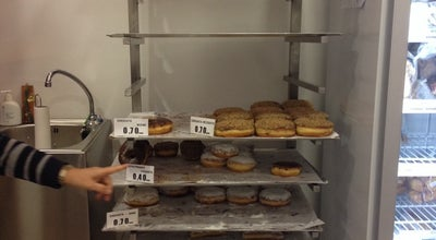 Photo of Donut Shop Nanou Donuts House at Ελευθερίου Βενιζέλου 31, Agía Paraskeví, Greece