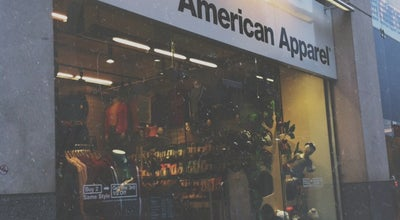 Photo of Clothing Store American Apparel at 26-28 Neal St, London WC2H 9QQ, United Kingdom