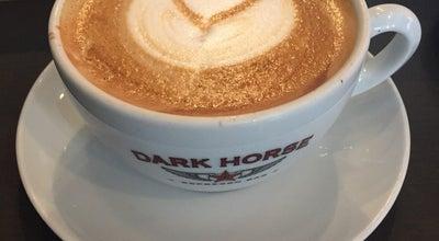 Photo of Coffee Shop Dark Horse Espresso Bar at 630 Queen St E, Toronto M4M 1G3, Canada