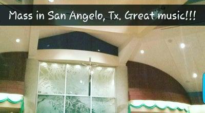 Photo of Church Holy Angels Catholic Church at 2202 Rutgers St, San Angelo, TX 76904, United States