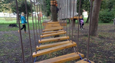 Photo of Theme Park Мотузковий Парк at Парк Ім. Лесі Українки, Луцьк 43000, Ukraine