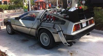 Photo of Historic Site Back to the Future DeLorean at Orlando, FL, United States