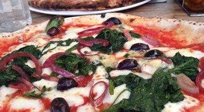 Photo of Pizza Place Franco Manca at 52 Broadway Market, London Fields E8 4QJ, United Kingdom