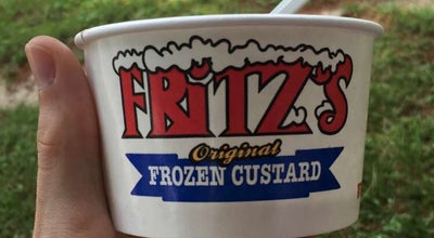 Photo of Ice Cream Shop Fritz's Florissant at 1055 Saint Catherine St, Florissant, MO 63031, United States