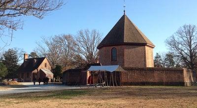 Photo of History Museum Magazine & Guardhouse at Duke Of Gloucester St, Williamsburg, VA, United States
