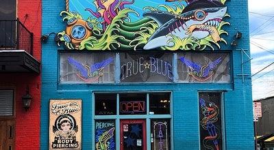 Photo of Tattoo Parlor True Blue Tattoo at 607 Red River St, Austin, TX 78701, United States