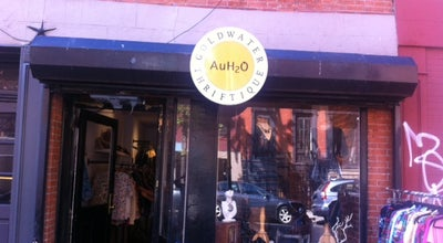 Photo of Thrift / Vintage Store AuH2O Thriftique at 84 E 7th St, New York, NY 10003, United States