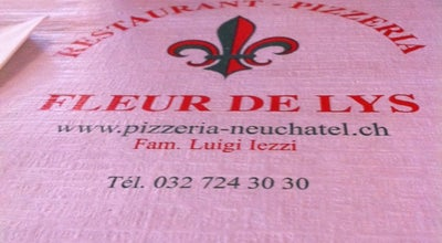Photo of Italian Restaurant Restaurant Fleur De Lys at Neuchatel, Switzerland
