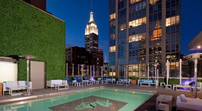 Photo of Roof Deck Gansevoort Park Rooftop at 420 Park Ave S, New York, NY 10016, United States
