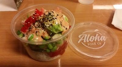 Photo of Hawaiian Restaurant Aloha Poke Co. at Chicago French Market, Chicago, IL 60661, United States