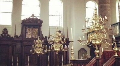 Photo of Monument / Landmark Portuguese Synagogue at Mr. Visserplein 3, Amsterdam 1011 RD, Netherlands