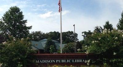 Photo of Library Madison Library at 130 Plaza Boulevard Madison, Madison, AL 35758, United States