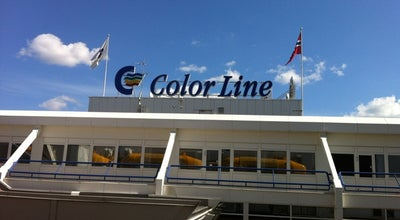 Photo of Harbor / Marina Color Line-terminalen at Hjortnes, Oslo 0250, Norway