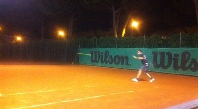Photo of Tennis Court Circolo Tennis Riccione at Via Forlimpopoli, Riccione, Italy