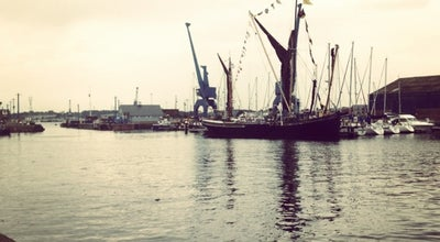 Photo of Harbor / Marina Ipswich harbour at Ipswich, United Kingdom