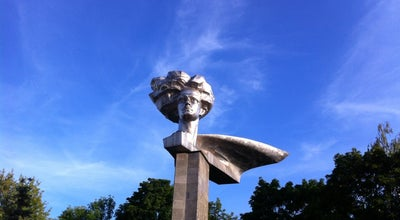 Photo of Monument / Landmark Монумент «Молодым революционеркам текстильного края» at Вокзальная Пл., Иваново, Russia