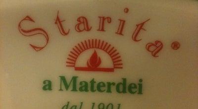 Photo of Pizza Place Starita at Via Materdei, 27, Napoli 80136, Italy
