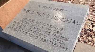 Photo of Plaza World War II Monument & Memorial at Savannah, GA 31401, United States