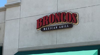 Photo of Mexican Restaurant Bronco's Grill at 960 E Badillo St, Covina, CA 91724, United States