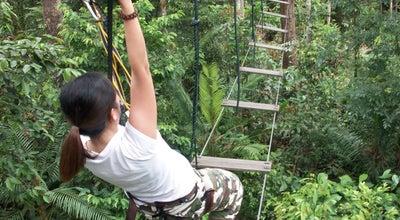 Photo of Park Skytrex Adventure Park at Taman Pertanian Malaysia Bukit Cahaya Seri Alam, , 33 Jalan Ubin U8/1, 40000 Shah Alam Selangor Darul Ehsan, Shah Alam 40000, Malaysia