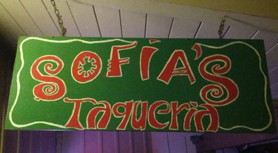 Photo of Taco Place Sofia's Taqueria at 140 Rancho Del Mar, Aptos, CA 95003, United States