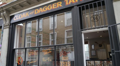Photo of Tattoo Parlor Cloak and Dagger Tattoo Parlour at 34 Cheshire Street, London E2 6EH, United Kingdom
