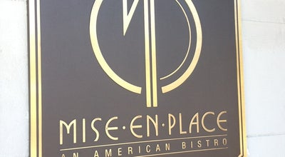Photo of American Restaurant Mise en Place at 442 W. Kennedy Blvd., Tampa, FL 33606, United States