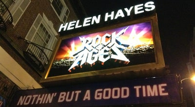 Photo of Theater Helen Hayes Theatre - Rock of Ages at 240 W 44th St, New York, NY 10036, United States