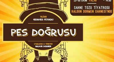 Photo of Theater Sahne Tozu Tiyatrosu Haldun DORMEN Sahnesi at Mithatpaşa Cad. No:9 Ssk Blokları E-1 Blok, Konak 35260, Turkey