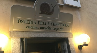 Photo of Italian Restaurant Osteria Della Chiocciola at Via Fossano 1, Cuneo, Italy