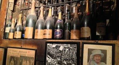 Photo of Wine Bar Gordon's Wine Bar at 47 Villiers St, London, Greater London WC2N 6NE, United Kingdom