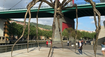 Photo of Art Gallery Mama (Louise Bourgeois) at Bilbao, Spain